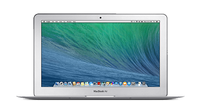 MacBook Air 11-inch front