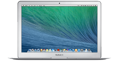 MacBook Air 13-inch front