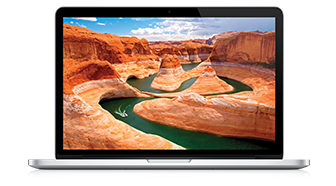 MacBook Pro Retina 13-inch 256GB front