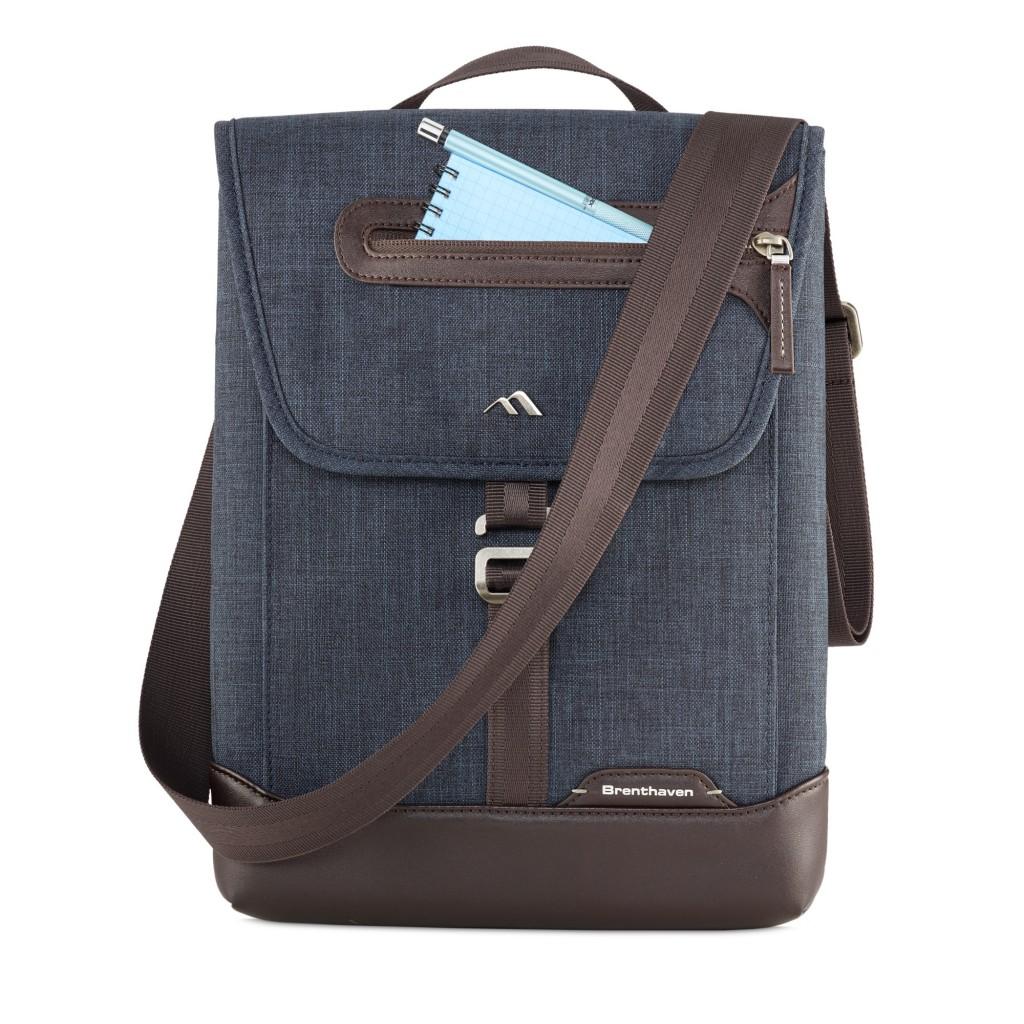 Brenthaven Vertical Messenger Bag