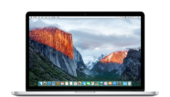 Late 2015 MacBook Pro 15-inch