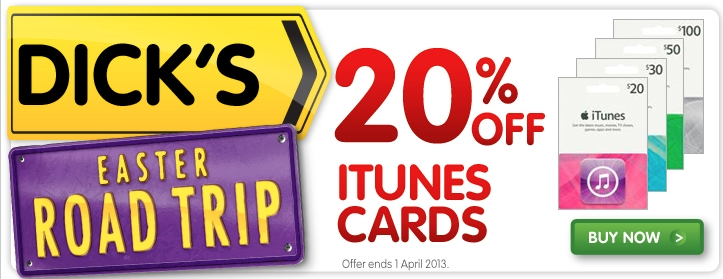 Easter iTunes gift Cards