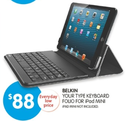 Big W iPad Mini Keyboard Case