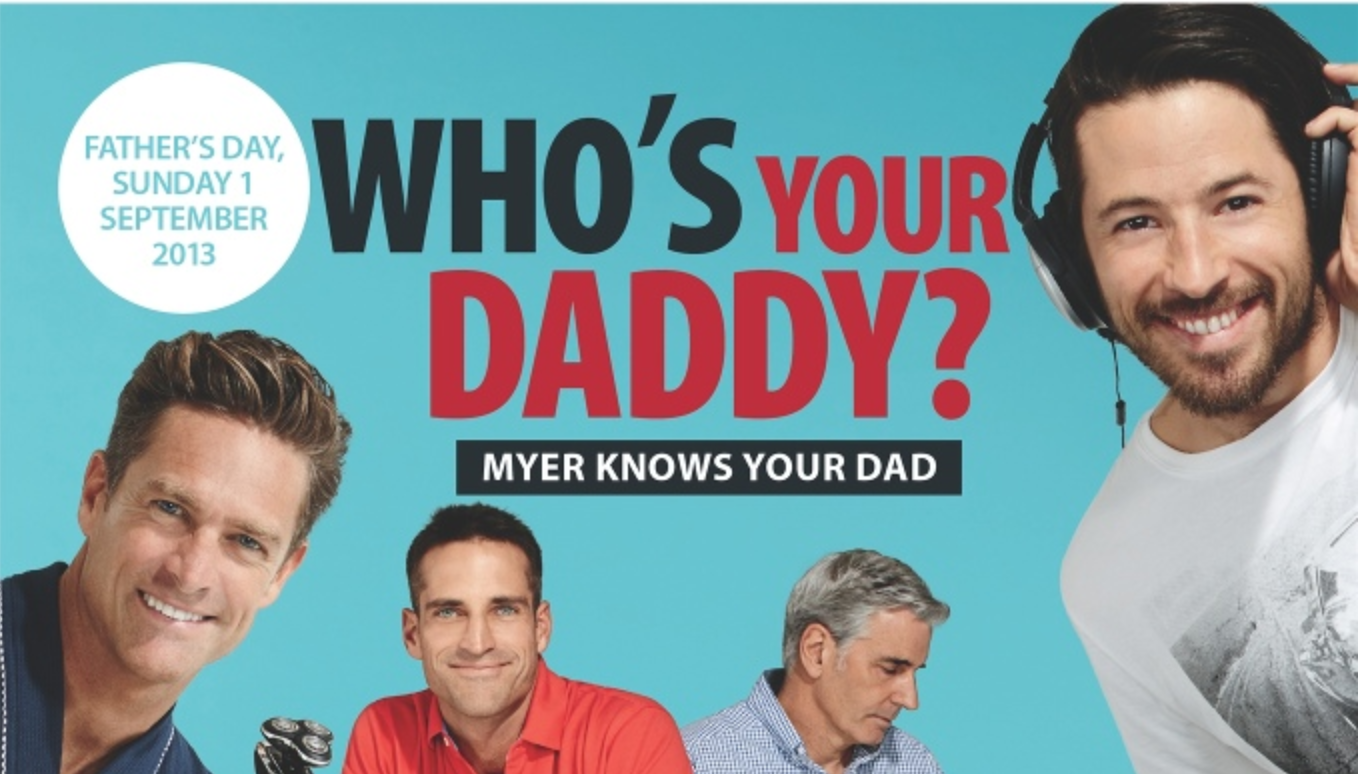 Myer 2013 Fathers Day Sale – Mac, iPad, iTunes & More