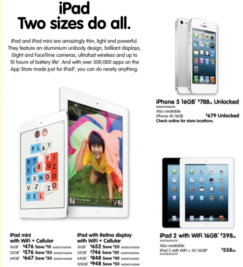 Dick Smith iPhone & iPad fathers day