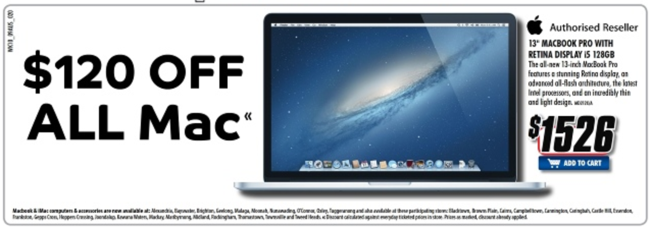 The Good Guys Mac Sale