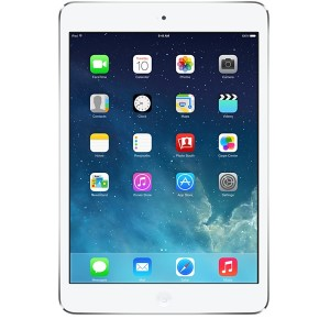 iPad mini with Wi-Fi + Cellular 32GB - White & Silver