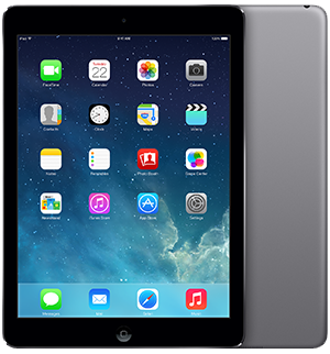 16GB Wi-Fi + Cellular iPad Air retina
