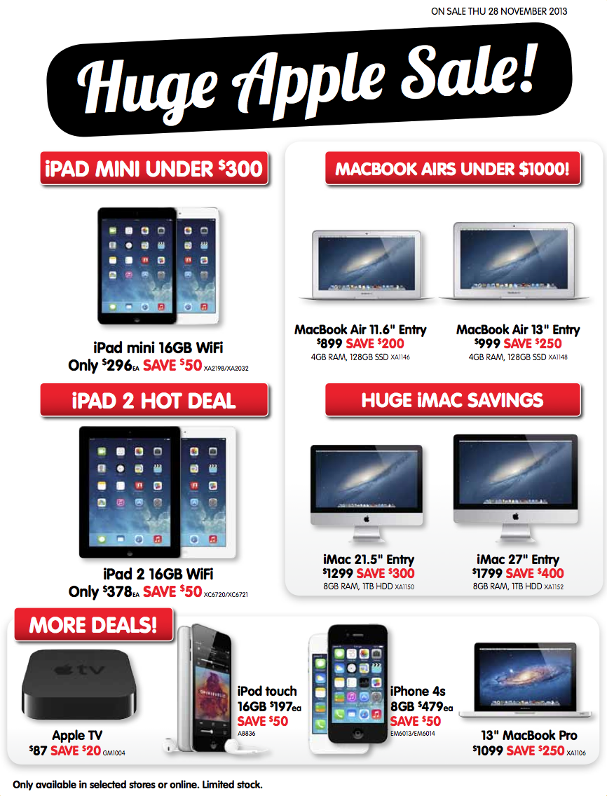 Dick Smith – Massive 24-hour Apple Sale