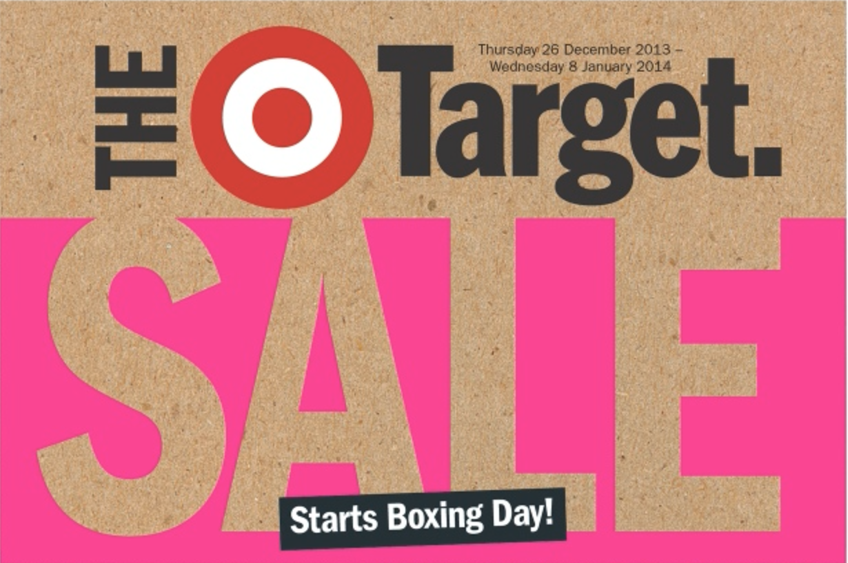 Target boxing day sale 2013