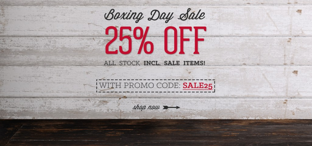 Toffee Boxing Day Sale