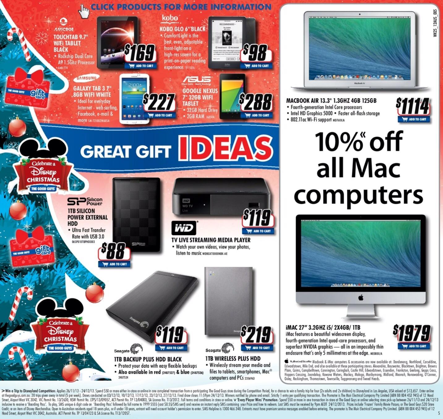 Good guys mac deal Christmas