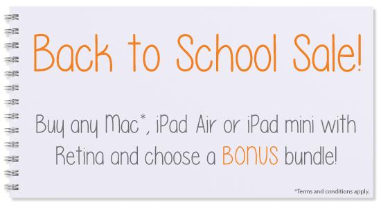 MAC1 Back To School Sale