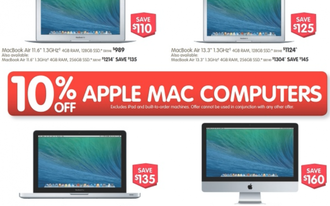 Dick Smith discounts Mac, iPad & Apple TV till Feb 26th
