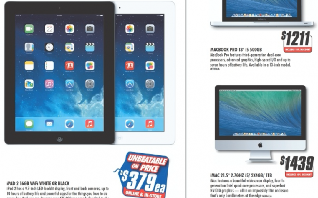 10% off Mac, iPad 2 price cut till March 3rd