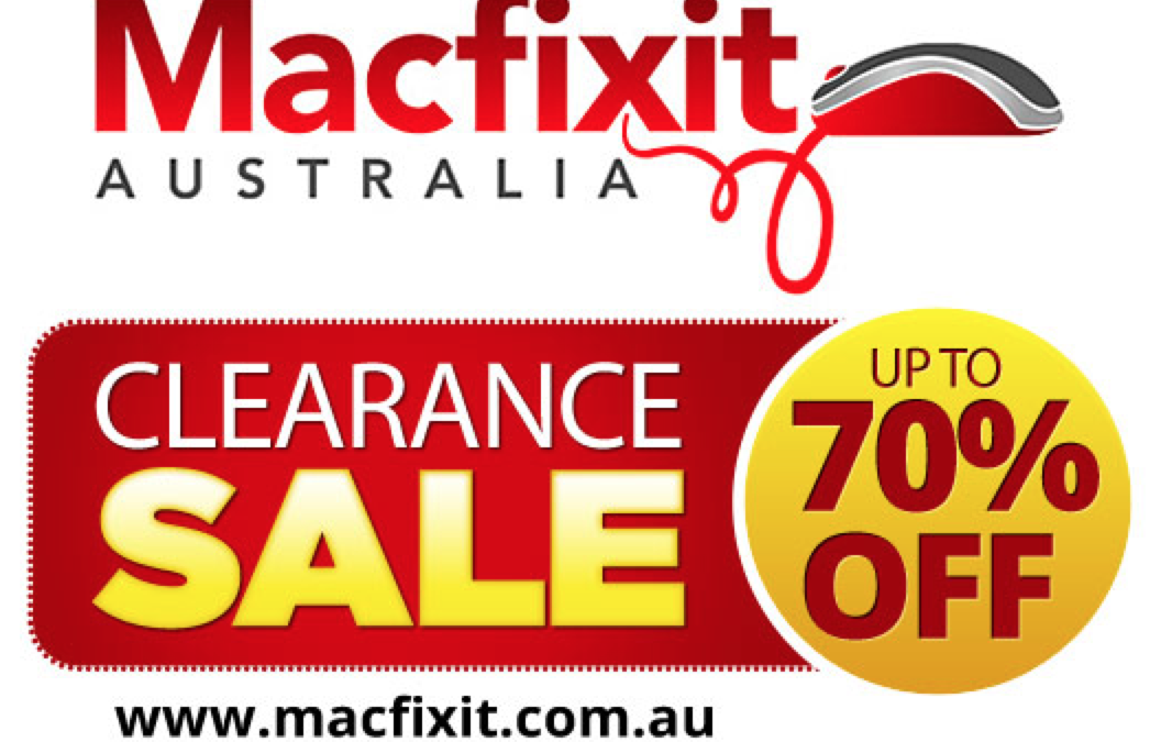 Up to 70% off accessories at Macfixit