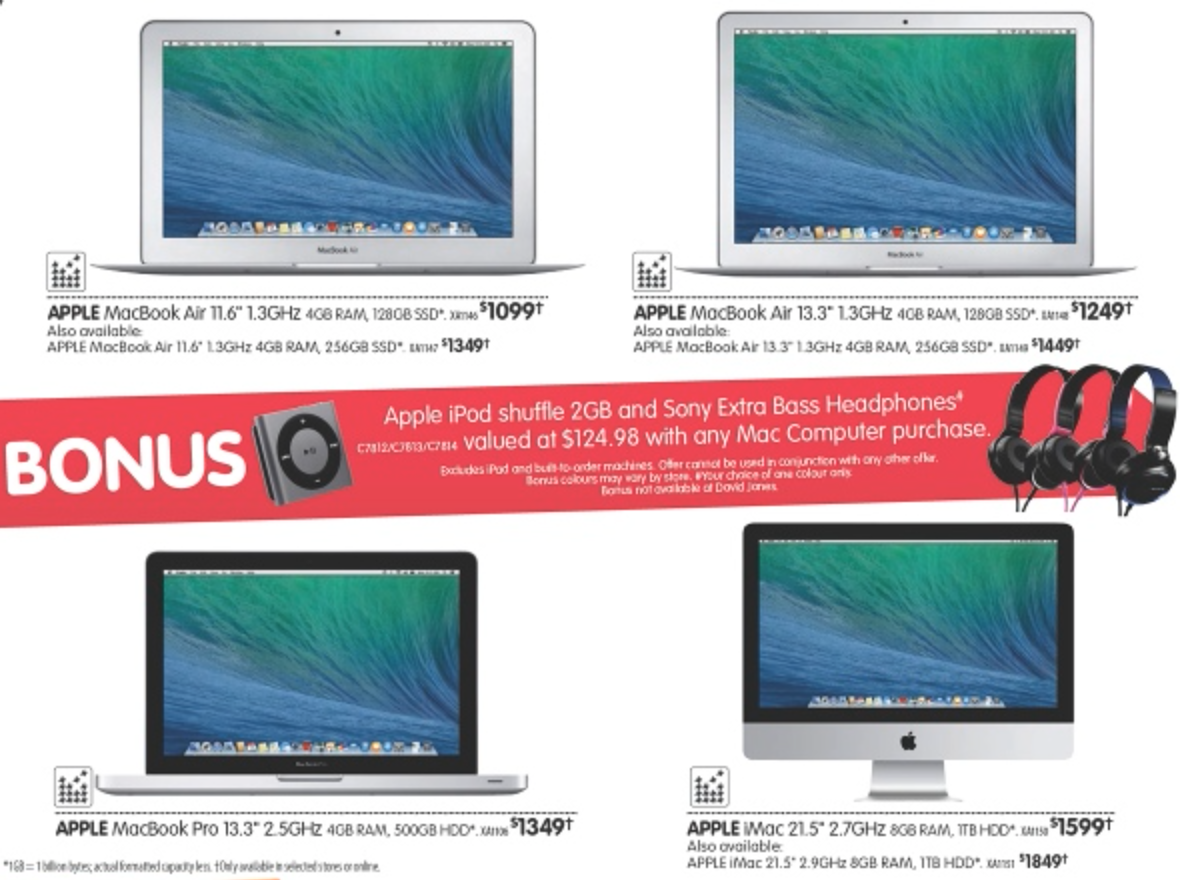 Dick Smith March Mac bonus offer