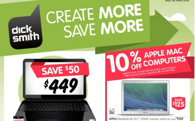 10% off Mac, Bonus iTunes Cards & more