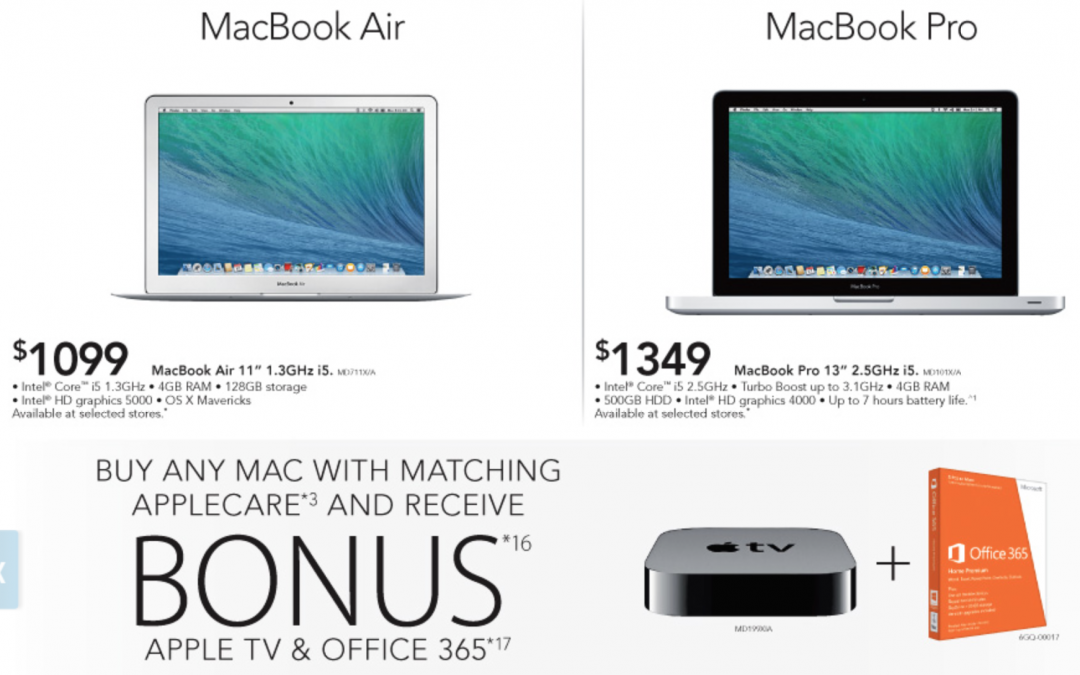 Harvey Norman March Sale – Apple Mac, iPad Bonus Offers