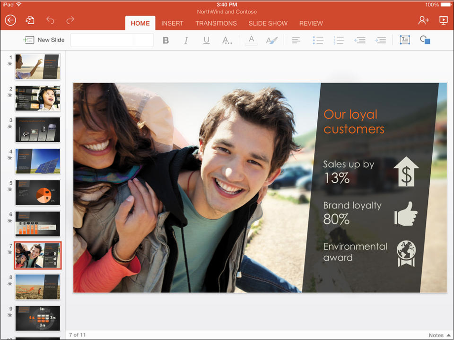 PowerPoint for iPad Australia