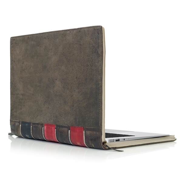"Twelve South 13"" BookBook Hardback Leather Case for MacBook Air and MacBook Pro with Retina Display"