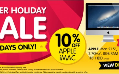 Dick Smith long weekend sale discounts Mac, iPad, iTunes & more