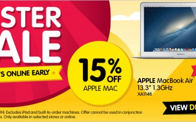 Dick Smith Easter long weekend Apple Sale