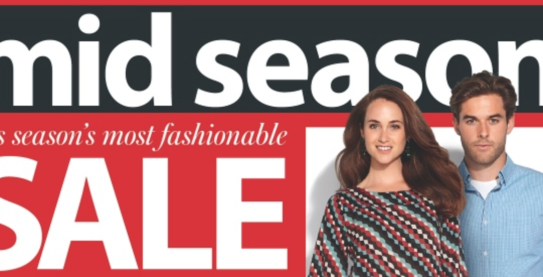 Myer 2014 mid-season sale – Mac Discount & more