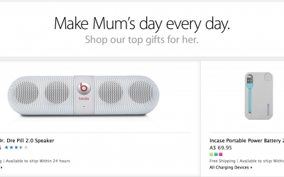Apple reveal their 2014 Mothers Day gift ideas