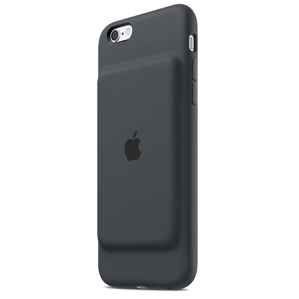 iPhone 6s Smart Battery Case Grey Back