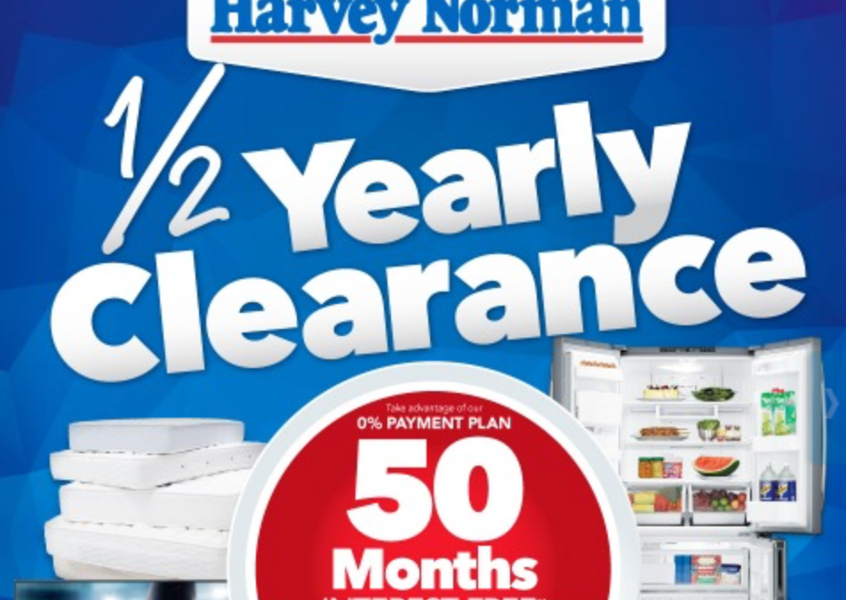 Harvey Norman mid year sale includes discounted Apple TV & more