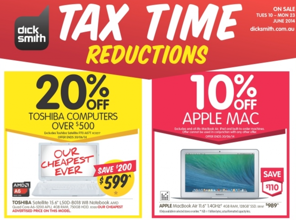 Dick Smith tax time