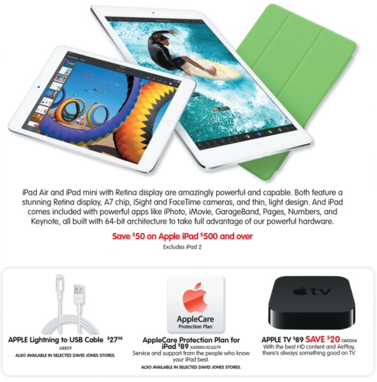 Dick Smith iPad sale july