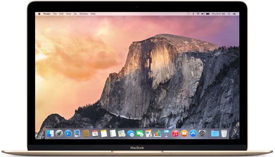 new MacBook model