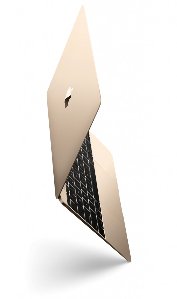New Gold 12-inch MacBook
