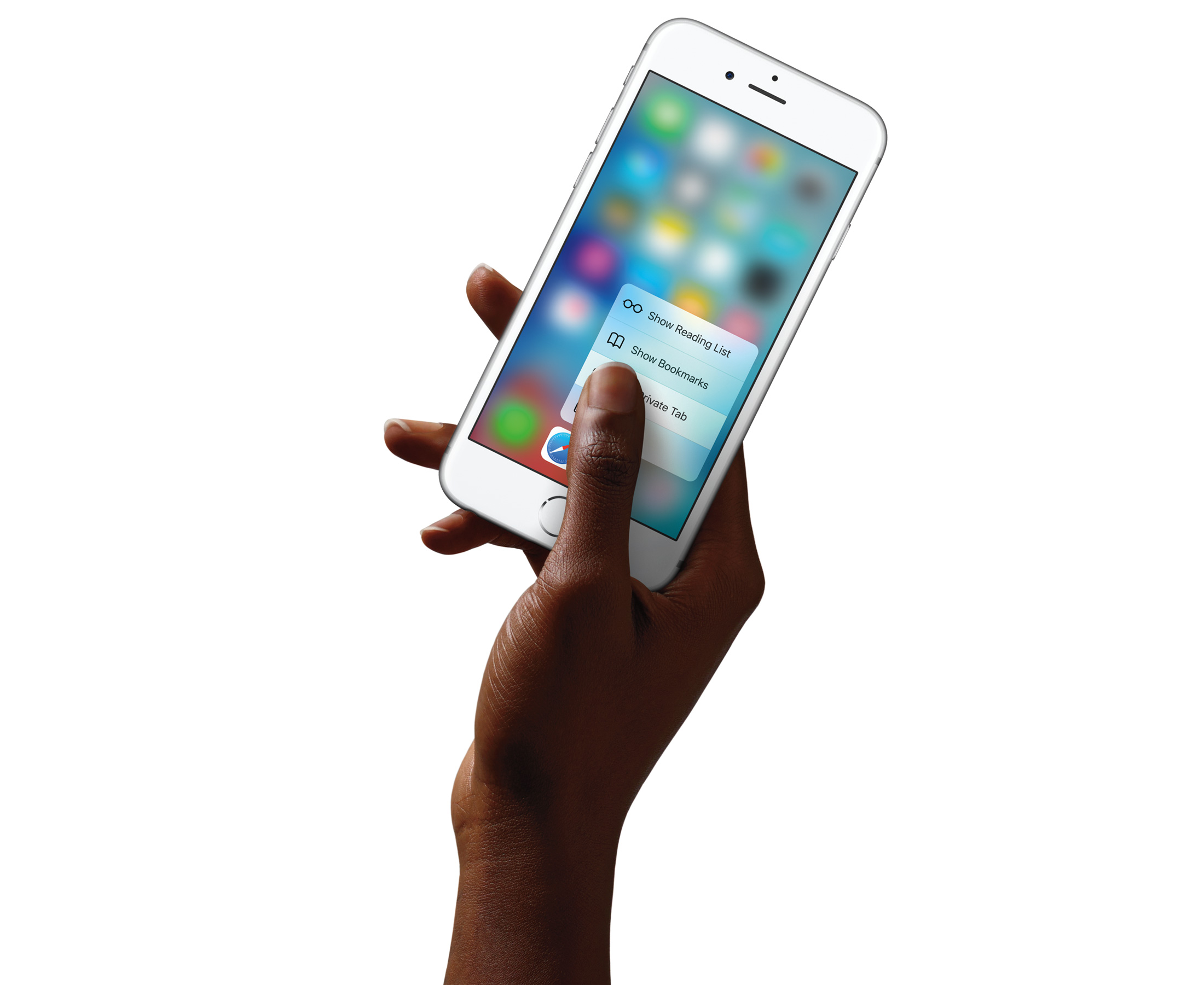 3D Touch new iPhone 6s