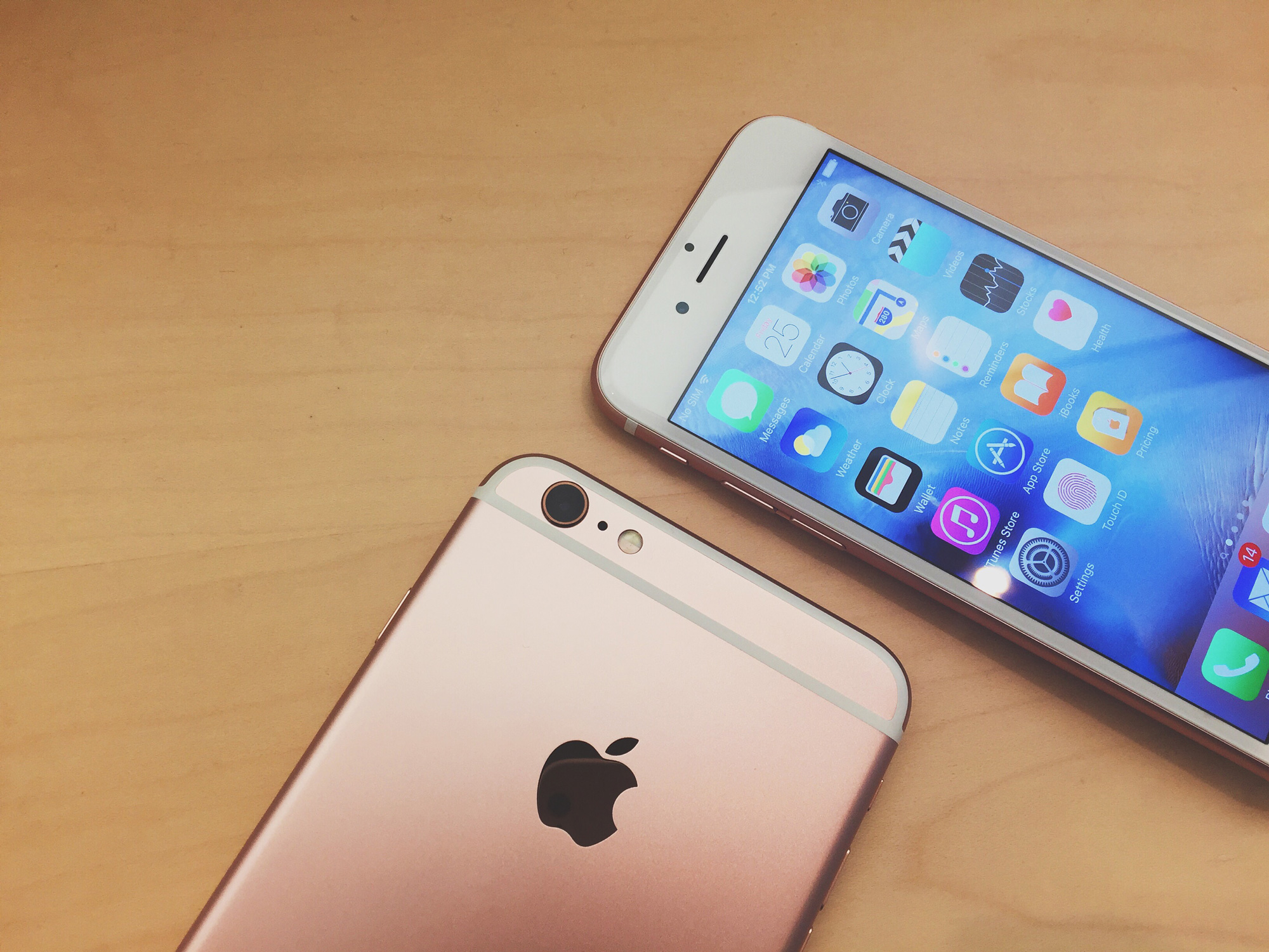 New iPhone 6s Colour Rose Gold