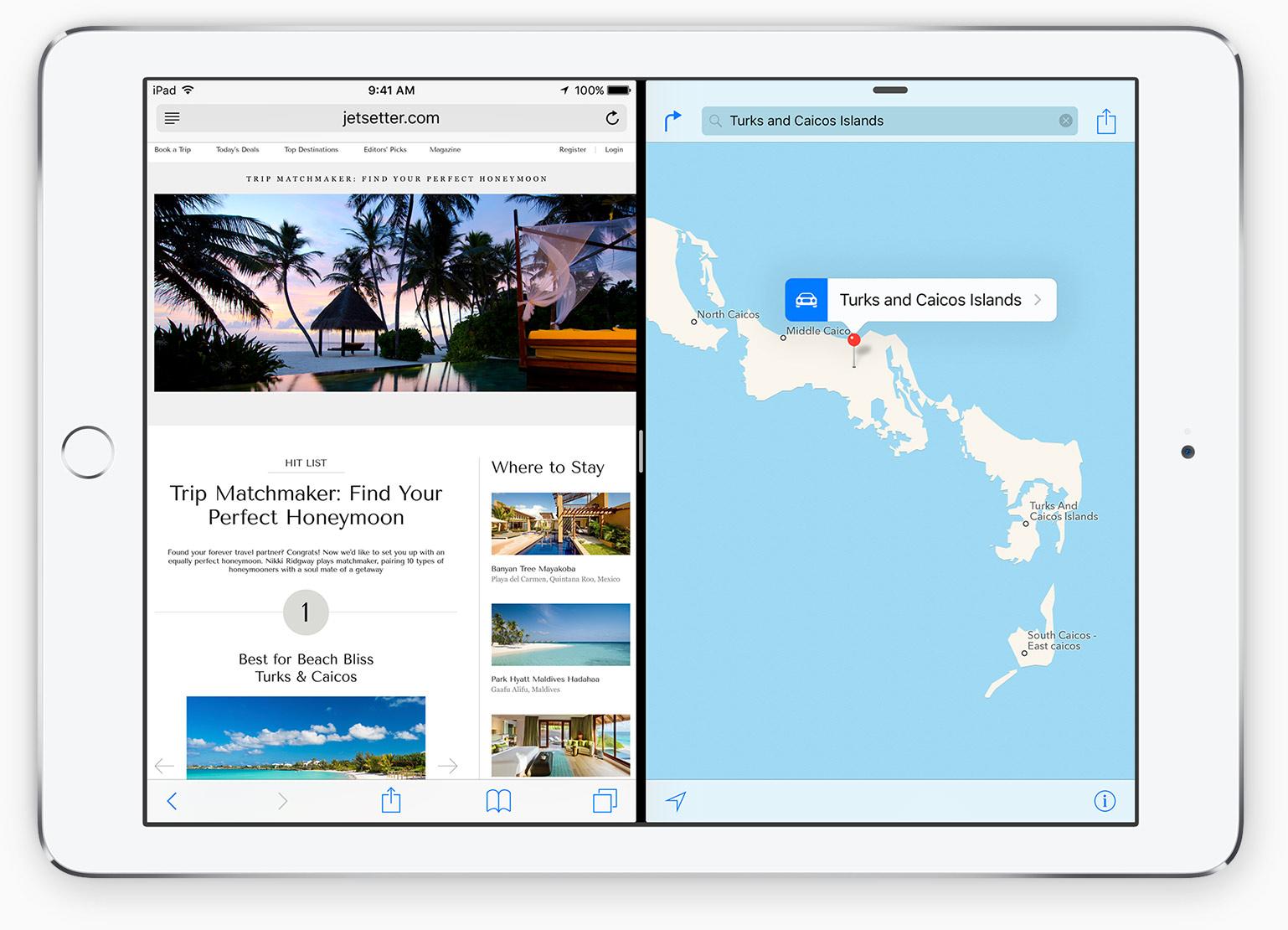 iPad Mini 4 Split View