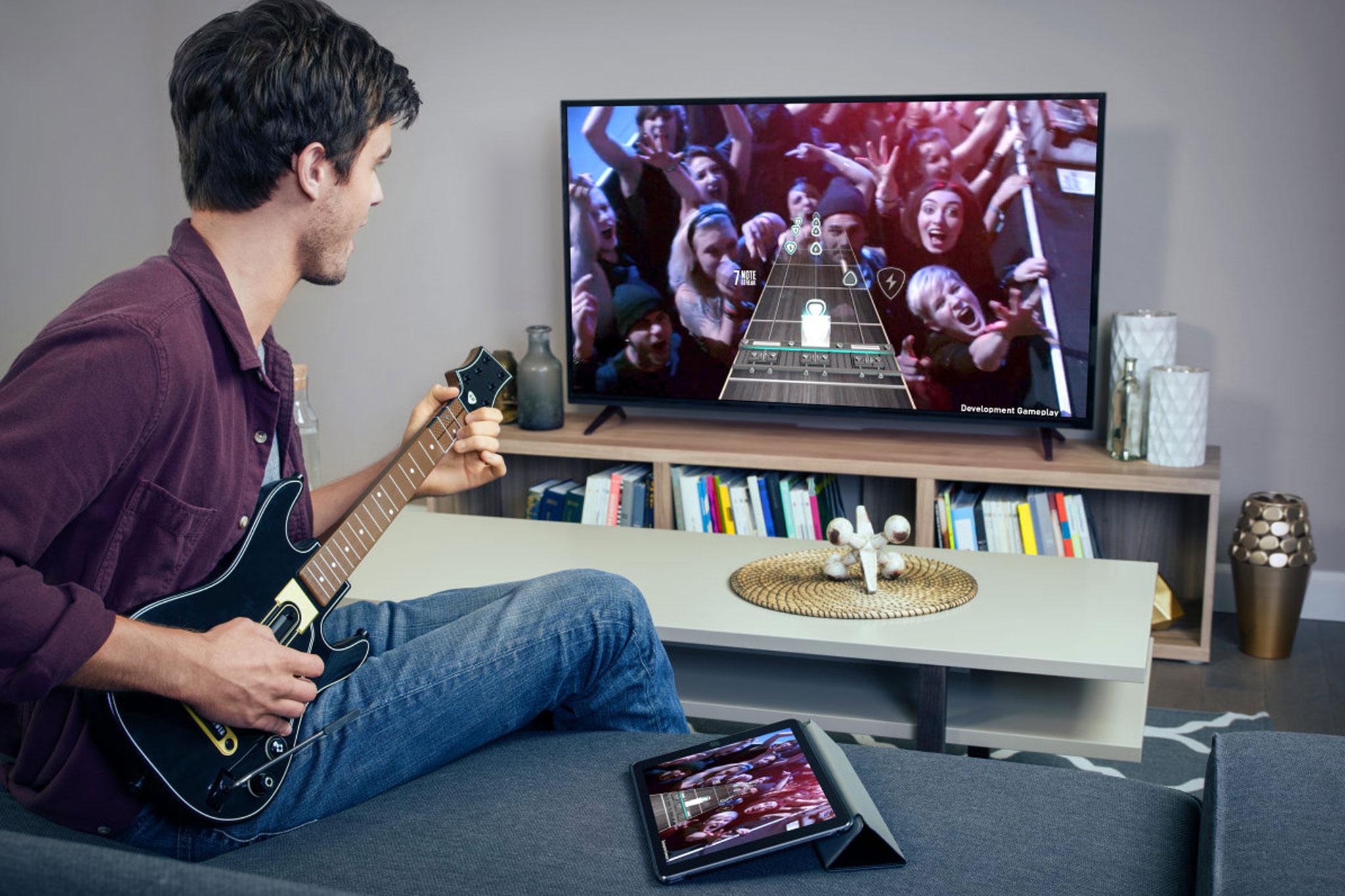 Guitar Hero Controller new Apple TV