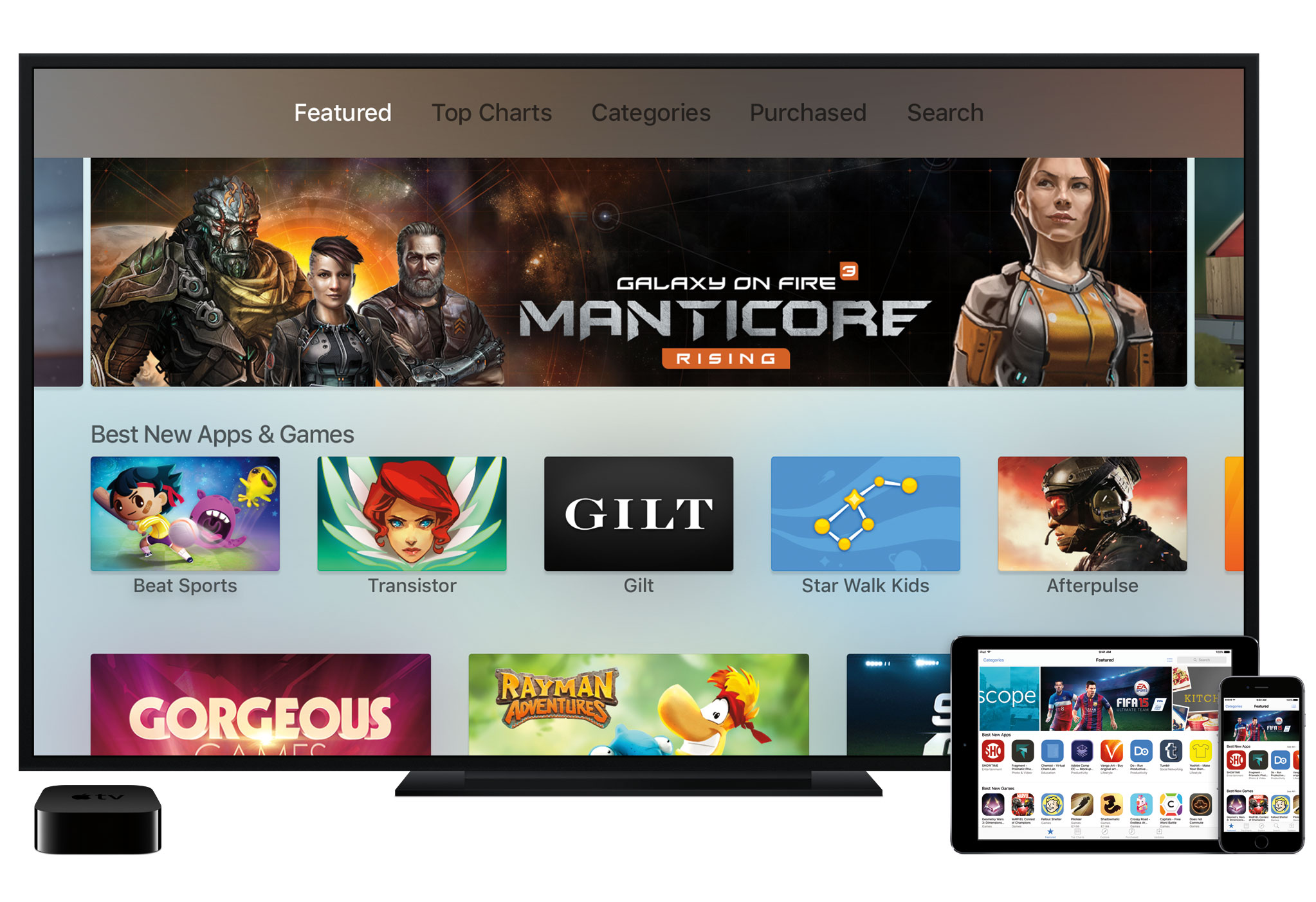 New Apple TV App Store