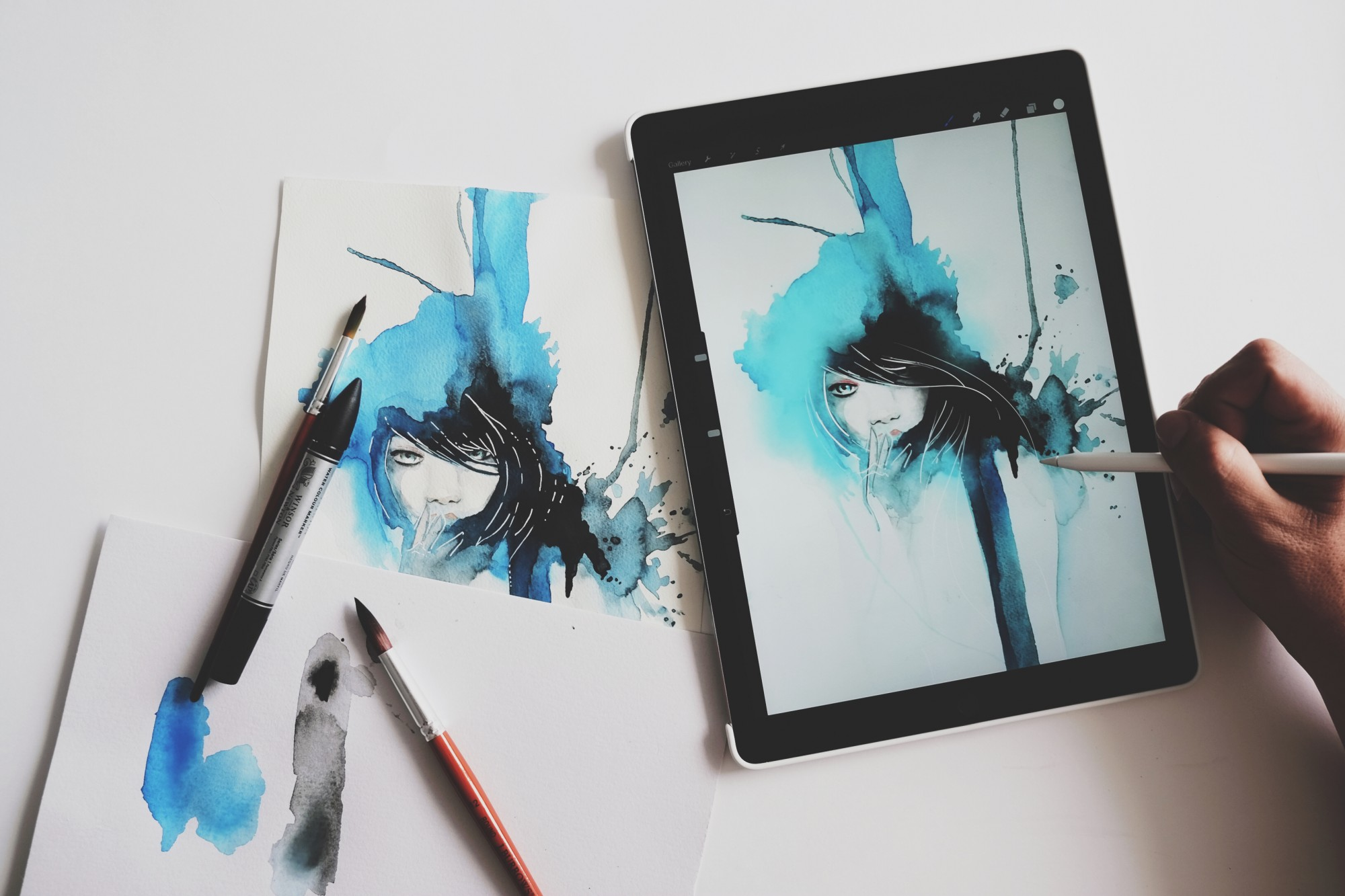 Apple Pencil Drawing