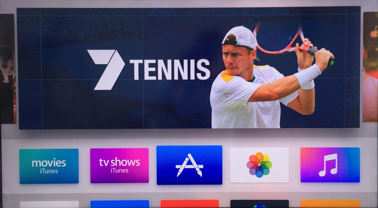 7Tennis Australian Open new Apple TV