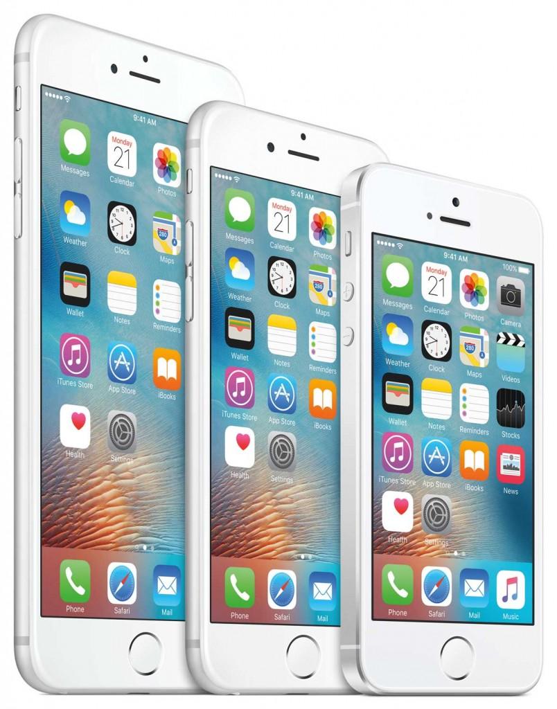 iPhone Range 2016