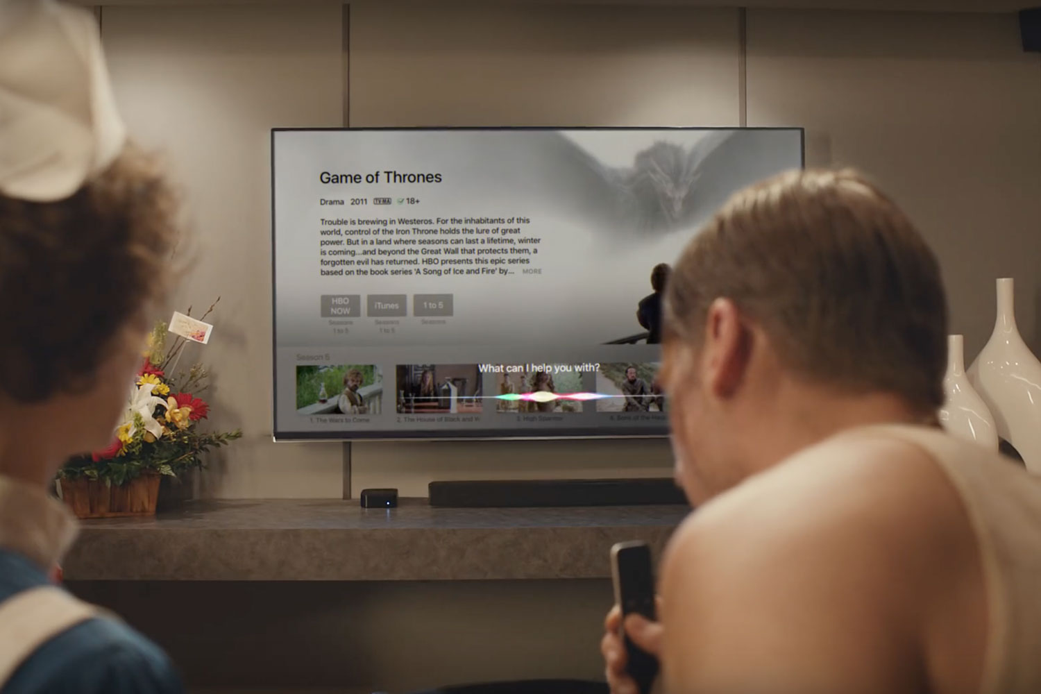 New-Kiss-Apple-TV-Ad-Game-Of-Thrones