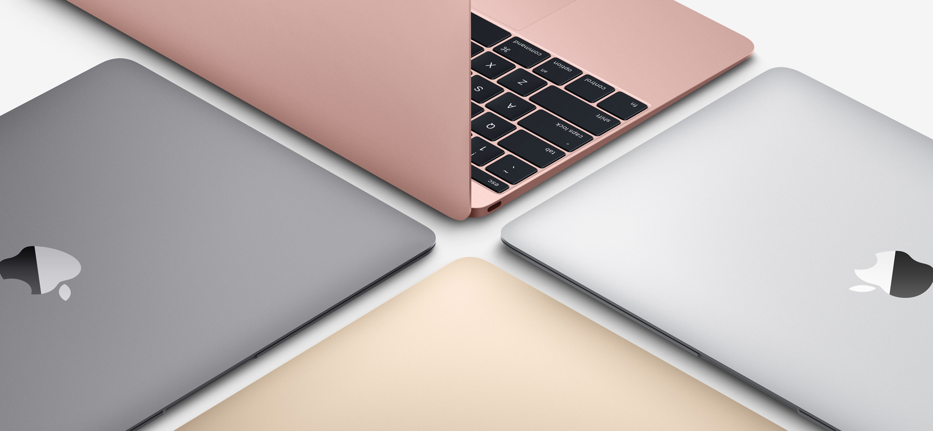 New 2016 MacBook Colours