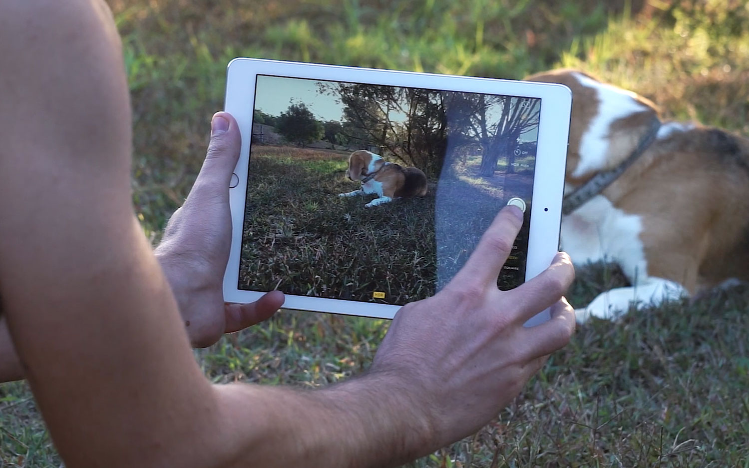 iPad Pro Review Camera