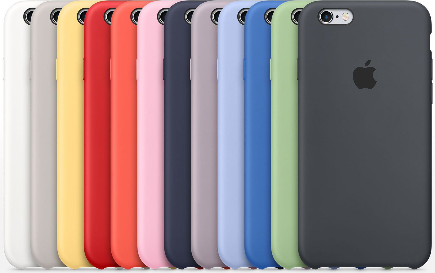 iPhone Silicone Case Colours
