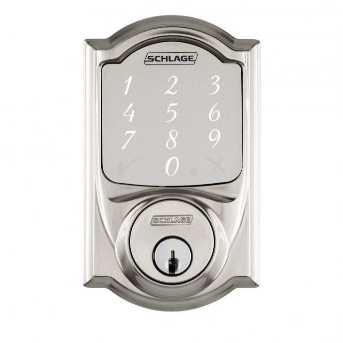 Schlage-Sense-Smart-Deadbolt-with-Camelot-Trim
