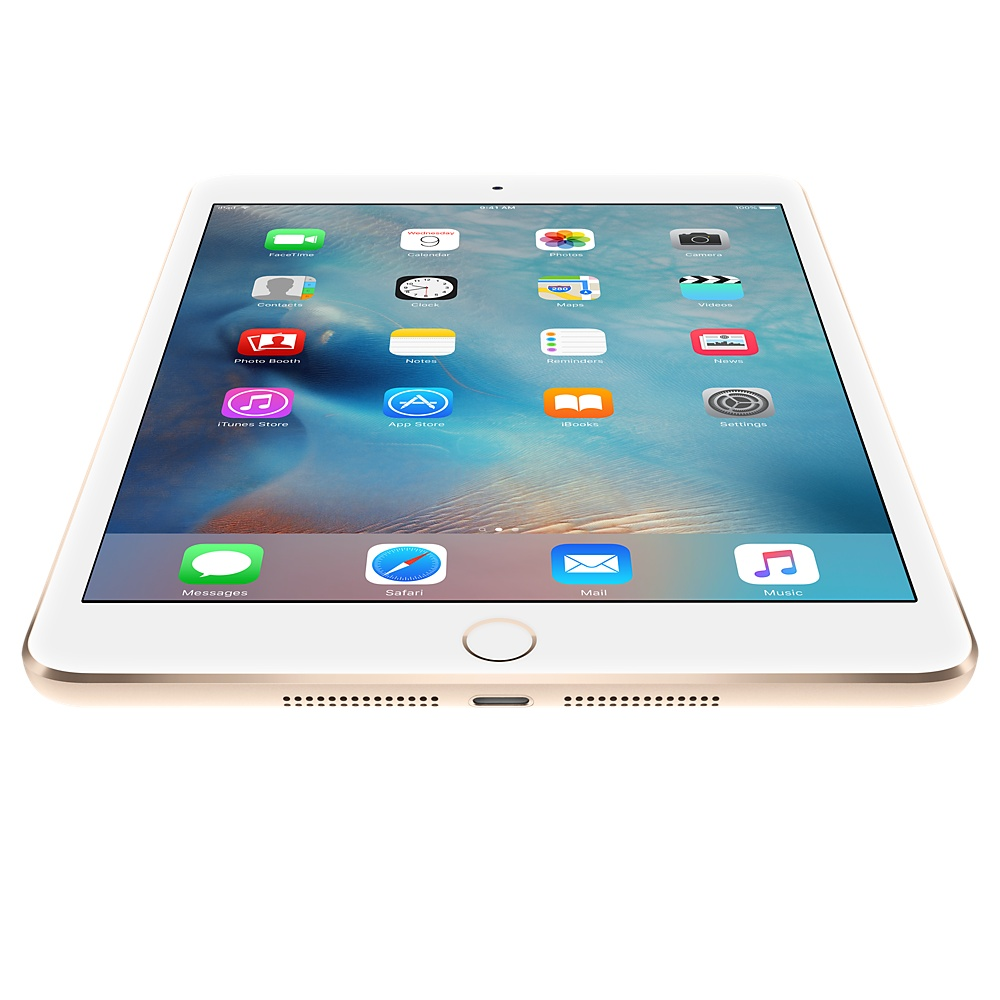 Refurbished iPad Mini 3 Gold Bottom