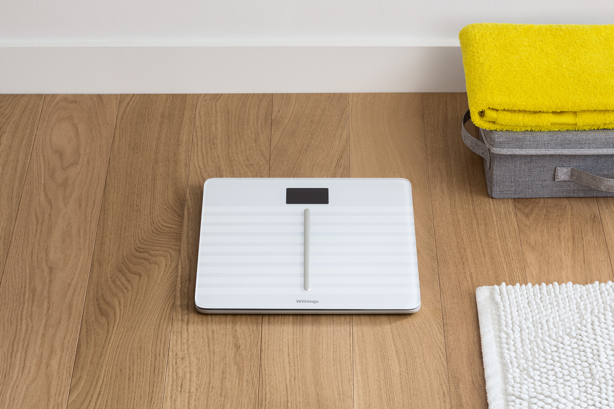 Withings Body Cardio Scale For iPhone And Apple Watch White Lifestyle